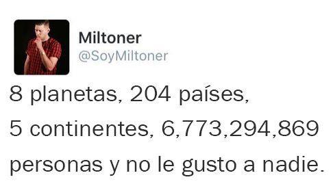 :'( Soy Miltoner