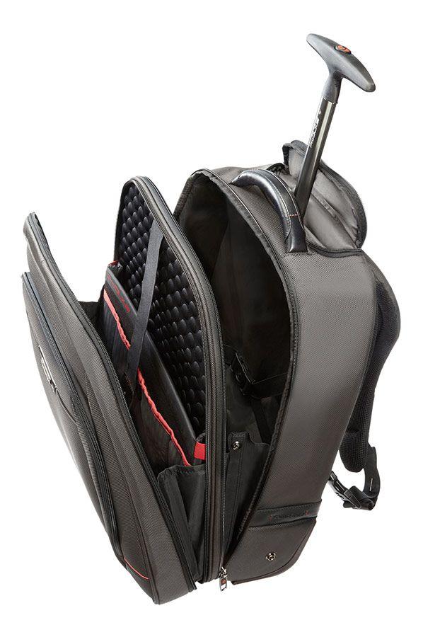 Samsonite Pro-DLX 4 Sac à dos portable à roulettes 43.9cm/17.3inch Noir - samsonite.fr