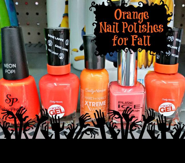 17 Best Ideas About Orange Nail Polish On Pinterest