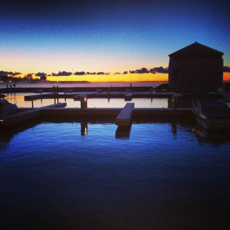 Kingston, Ontario sunrise - October 29th, 2013