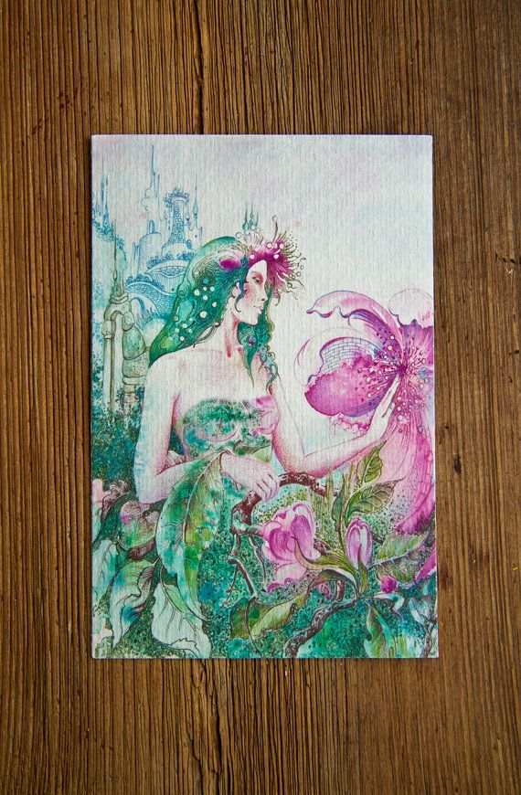 """""""THE VIRGO"""" - """"The Queen of Wild Apple Flower"""" Protective Angel for Zodiac Sign..."""