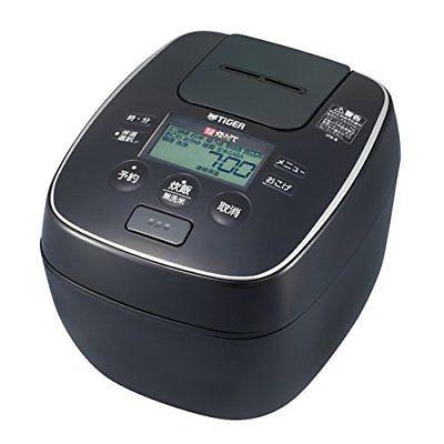 "Tiger rice cooker pressure IH ""cooked"" 5.5 Go black JPB-B100K P/O"
