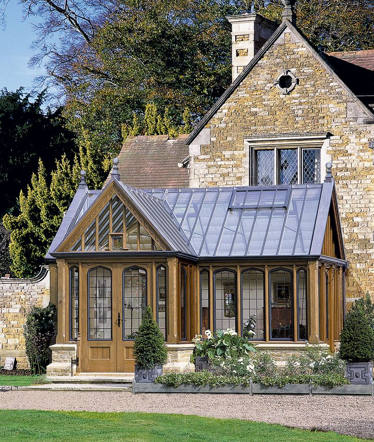 Period oak conservatory from Vale Garden House | Architecture ...
