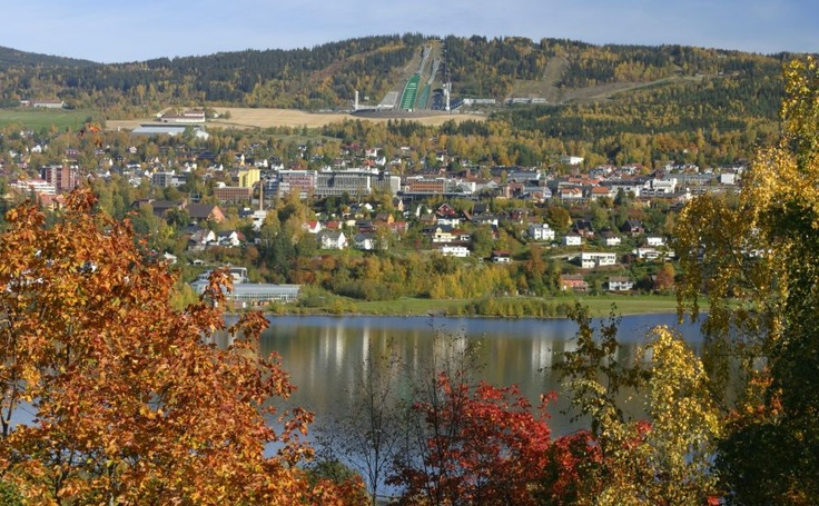 Lillehammer, Norge, never actually saw it without snow