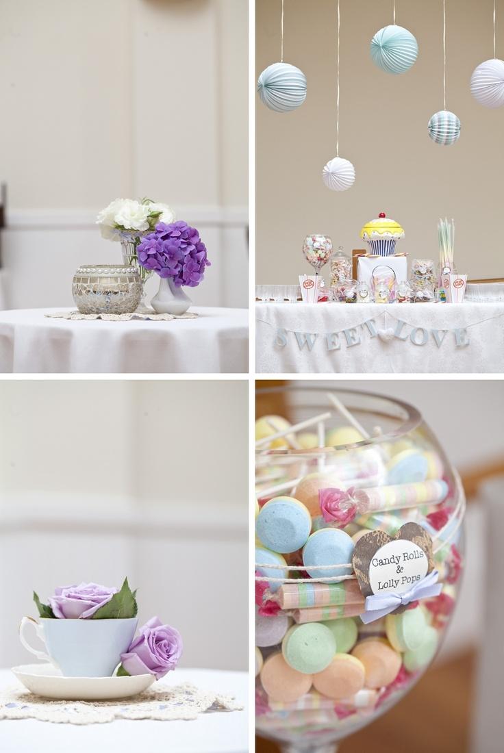 Wedding Styling (Pastels).  Lolly jars.  sydney wedding photographers