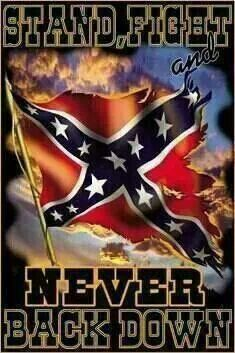 Confederate Flag- it's all about the history! Maybe if we would teach history class like it should be than so many would understand it and not the negatives that so many think due to lack of being educated about it.