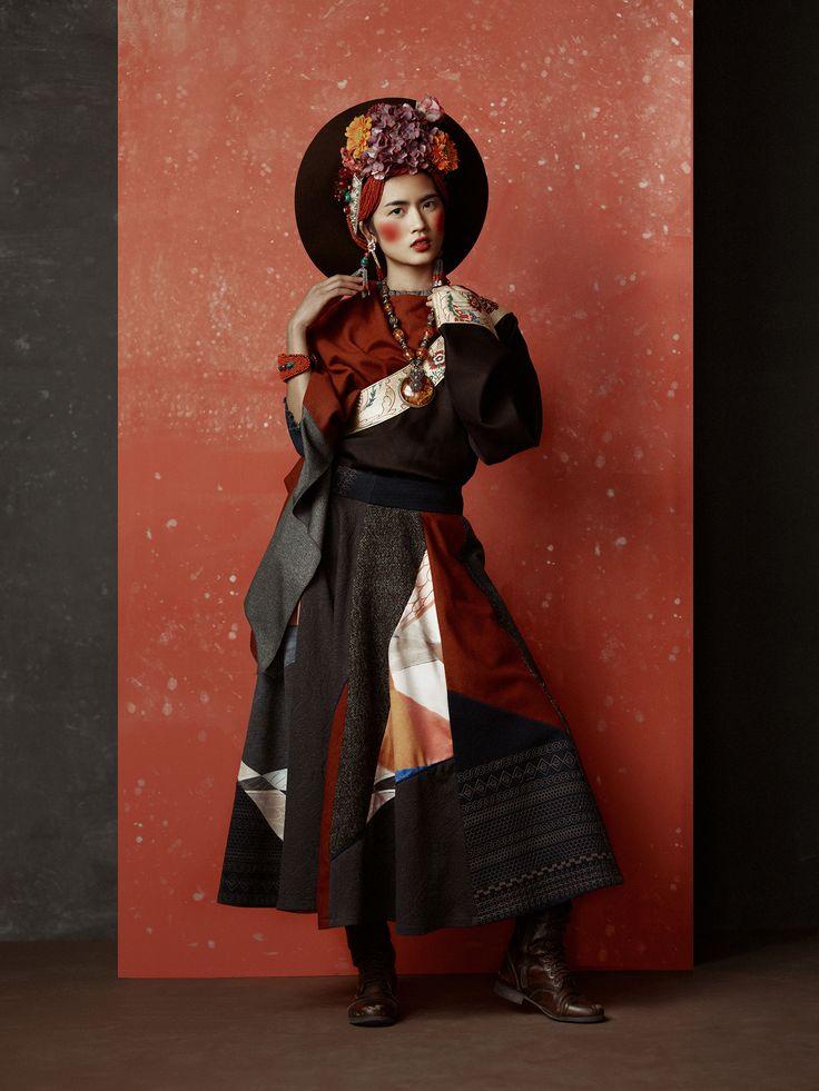fashion in Beijing www.ayoufashion.com Photo by KIKI XUE