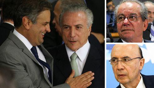 .PSDB do Golpista Aecio Neves e PMDB do Golpista Temer já dormem em camas separadas