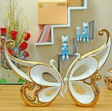2015 Home Decor New Style Hot Sales Free Shipping Butterfly For Creative Gift Idea Accessories Ceramic Ornaments Crafts Jewelry(China (Mainland))