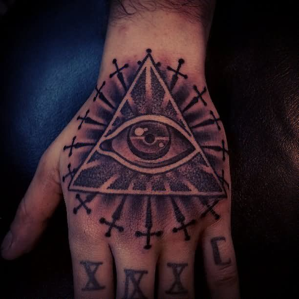 Pyramid Tattoos Designs Ideas And Meaning: 48 Best Amazing Eye Tattoos With Pyramids Images On
