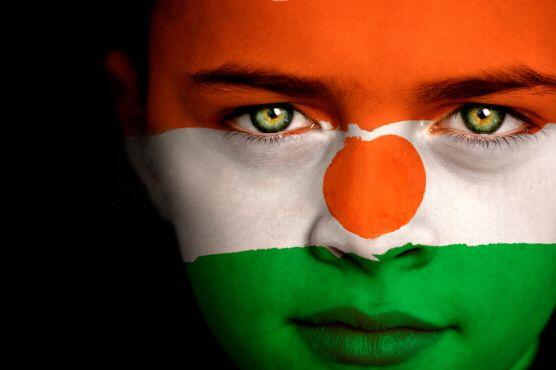 Niger Flag Boy