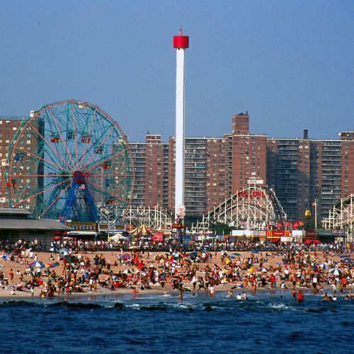 Coney Island Beach: Places I Want To Visit. In 2019