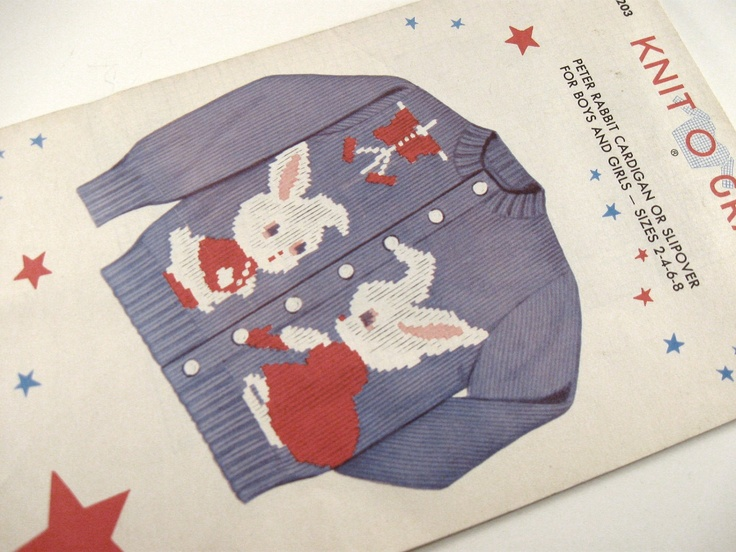 Knitting Pattern For Peter Rabbit Jumper : 72 best images about Peter Rabbit & friends on Pinterest Cross stitch a...