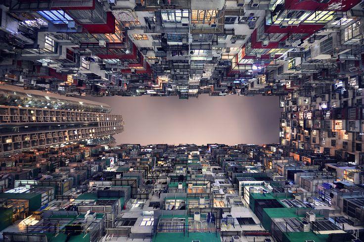 Vertical Horizon is a photographic journey of Hong Kong by Romain Jacquet-Lagrèze & Ashbi Ng