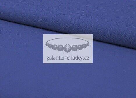 Látka bavlna jednobarevná jasně modrá