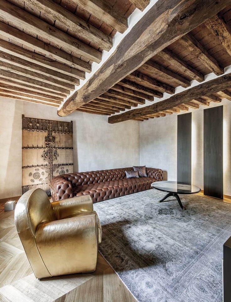 Un appartamento dal sapore rustico a Crema