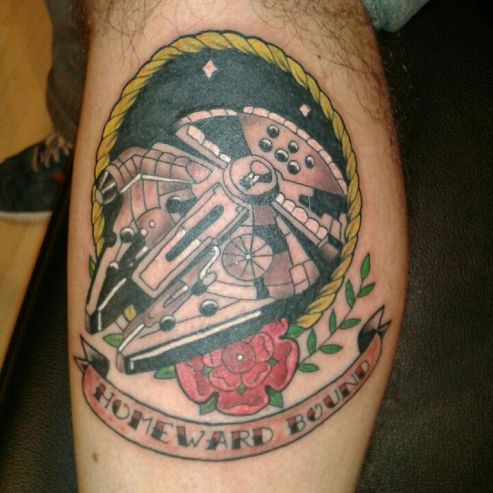Starwars homeward bound tattoo. Star wars tattoo