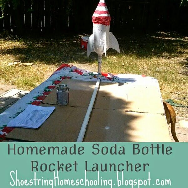 how to make a soda bottle rocket launcher