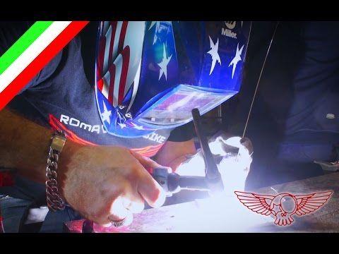 Saldatura TIG dell'alluminio, cosa è e come si fa - ep28 ita - Roma Custom Bike - YouTube