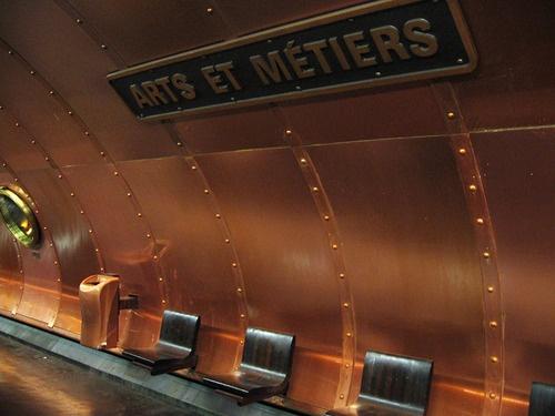 Art et Métier - Steampunk Metro Station - Paris