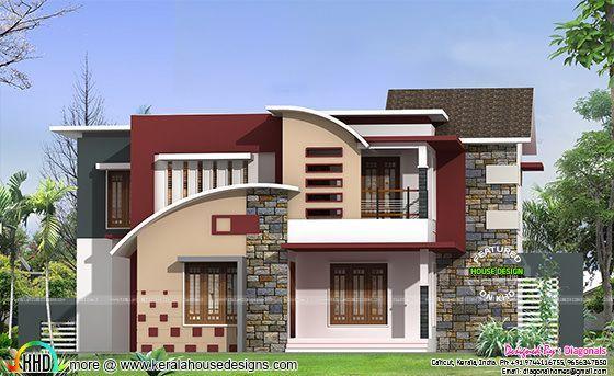2422 square feet 4 bedroom modern home