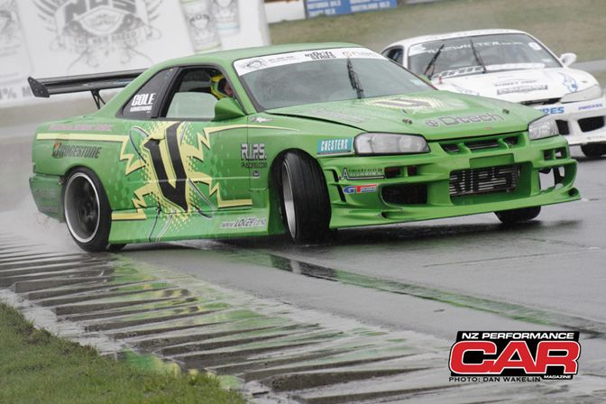 NZ PERFORMANCE CAR MAG NZ DRIFT ROUND THREE - Cole Armstrong (driver)