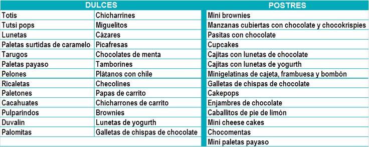 mesa de dulces salado - Buscar con Google