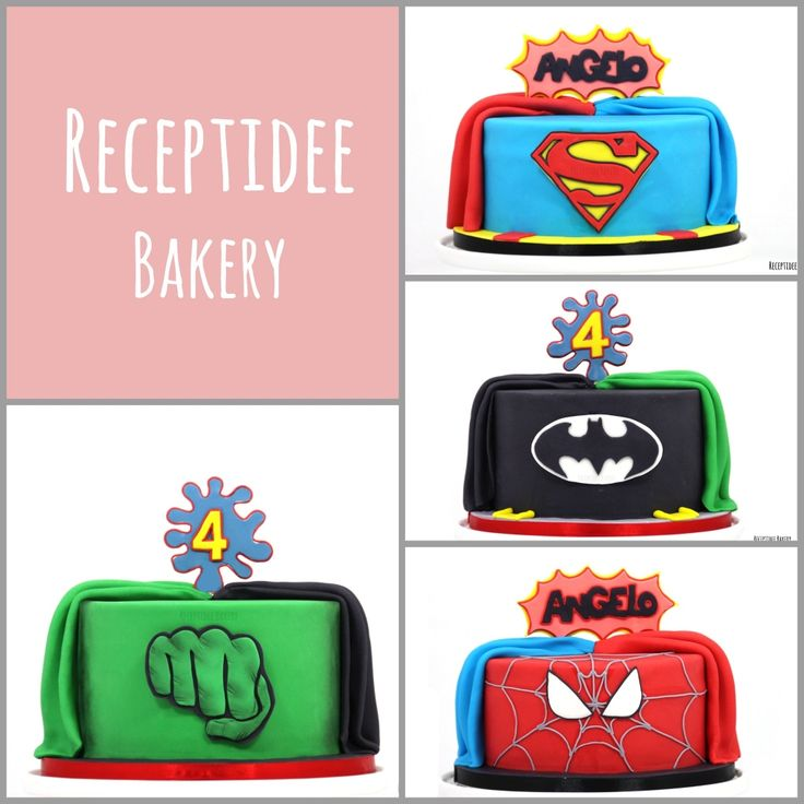 Gefeliciteerd met je verjaardag Angelo!   PS: dit zijn twee taarten   #Superheroes #superherocake #superhelden #superheldentaart #taart #cake #chocoladetaart #ganache #frambozenjam #redvelvet #creamcheese #fondant #spidermancake #spiderman #batman #batmancake #hulk #hulkcake #superman #supermancake