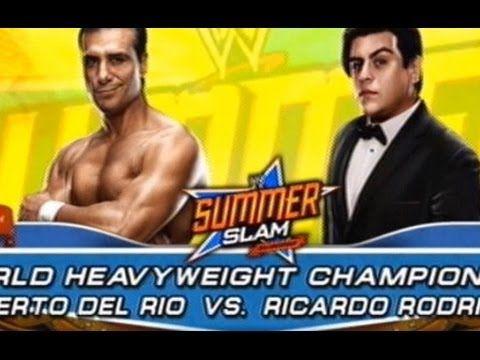 WWE 2K14 - Ricardo Rodriguez vs Alberto Del Rio (World Heavyweight Champ...