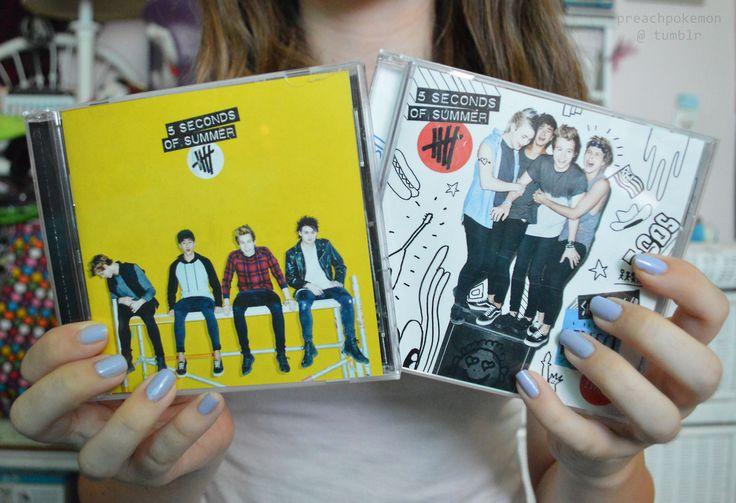 5 Seconds Of Summer CD's ♡