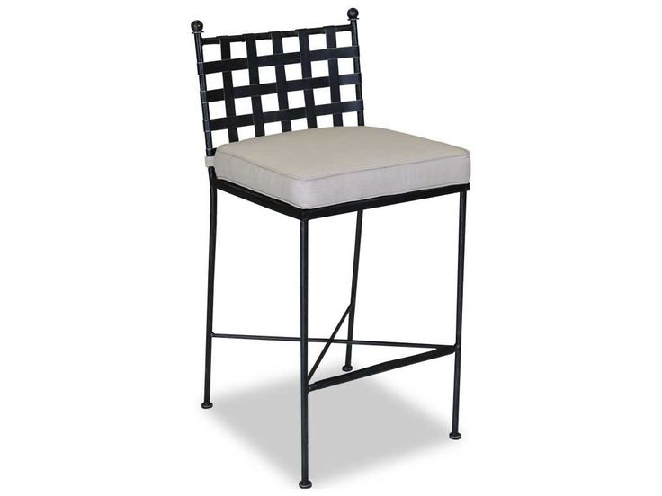 Sunset West Provence Wrought Iron Bar Stool | 3201-7B-NONSTOCK