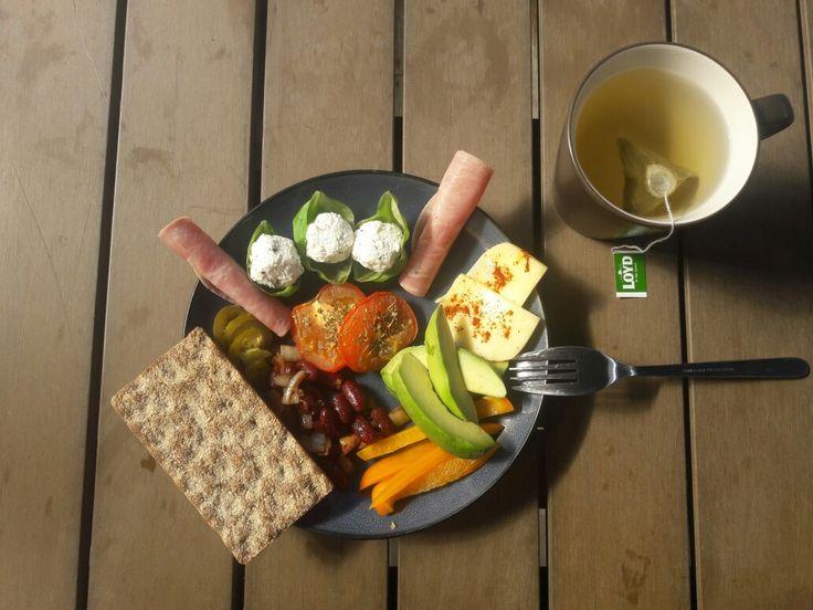 Perfect almost full veggie breakfast😉