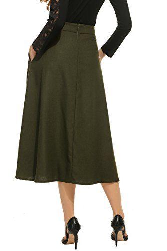c45815dc58 Modelos de faldas rectas largas