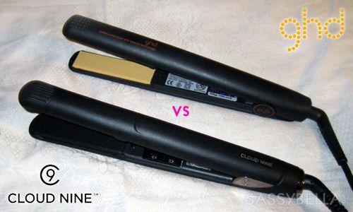 Hair straighteners: Cloud Nine vs ghd