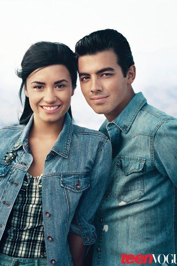 Demi Lovato and Joe Jonas: Teen Vogue Cover Shoot Photos | Teen Vogue