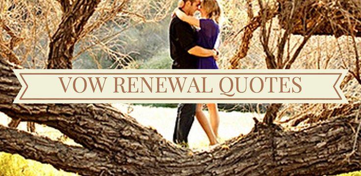 Renewing Wedding Vows Quotes: Best 25+ Vow Renewals Ideas On Pinterest