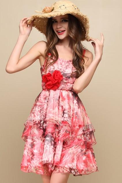 1000  ideas about Pink Floral Dress on Pinterest  Floral dresses ...