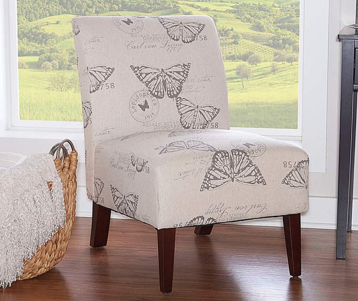 Best Shelby Butterfly Armless Accent Chair At Big Lots 400 x 300
