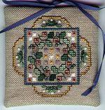 TW Designworks - English Cottage Sampler Ornament