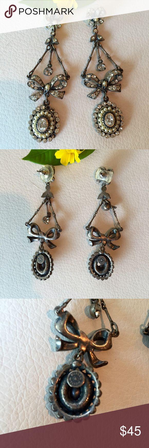 Butler & Wilson Uk Diamanté Chandelier Earrings Butler & Wilson Uk Diamanté Chandelier  Earrings Sold