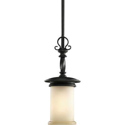 Progress Lighting - Santiago Collection Forged Black 1-light Mini-Pendant - 785247151097 - Home Depot Canada