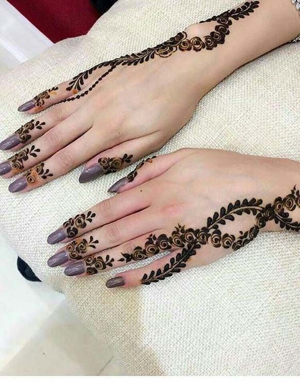 Bridal Mehndi Designs for Party 2018