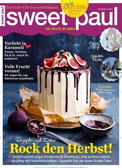Irresistible! - Schoko-Feigentorte mit Ahornsirup. Gefunden in: sweet paul - epaper, Nr. 3/2015