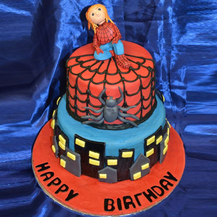 The Cake Artists - SpiderMan Cake