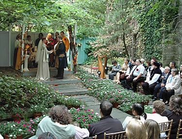 Outdoor Medieval Wedding