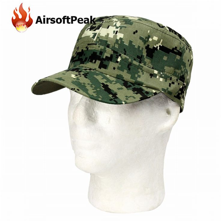 Military Army Tactical Combat Fatique Caps Outdoor Cycling Hunting Camouflage Printed Flat-top Hats Sunshade Snapback Gorras