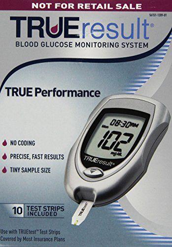 TRUEResult Blood Glucose Starter Kit.