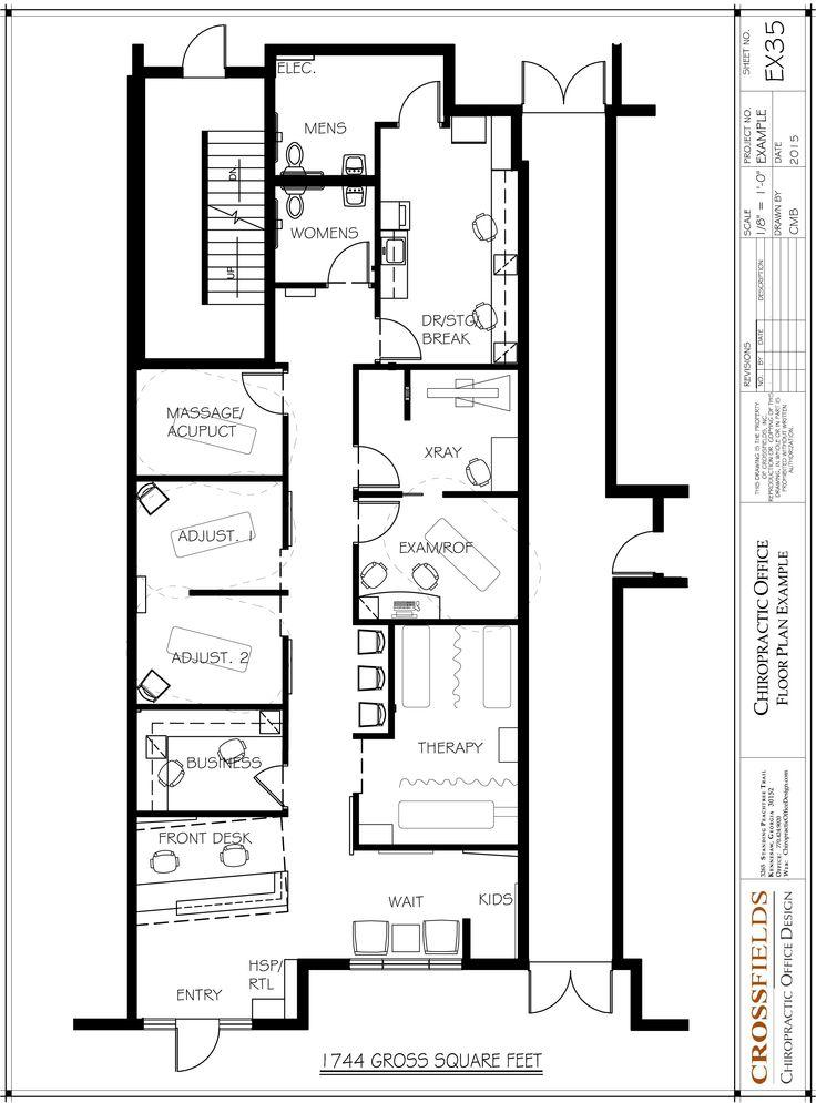 95 best chiropractic floor plans images on pinterest for X ray room floor plan
