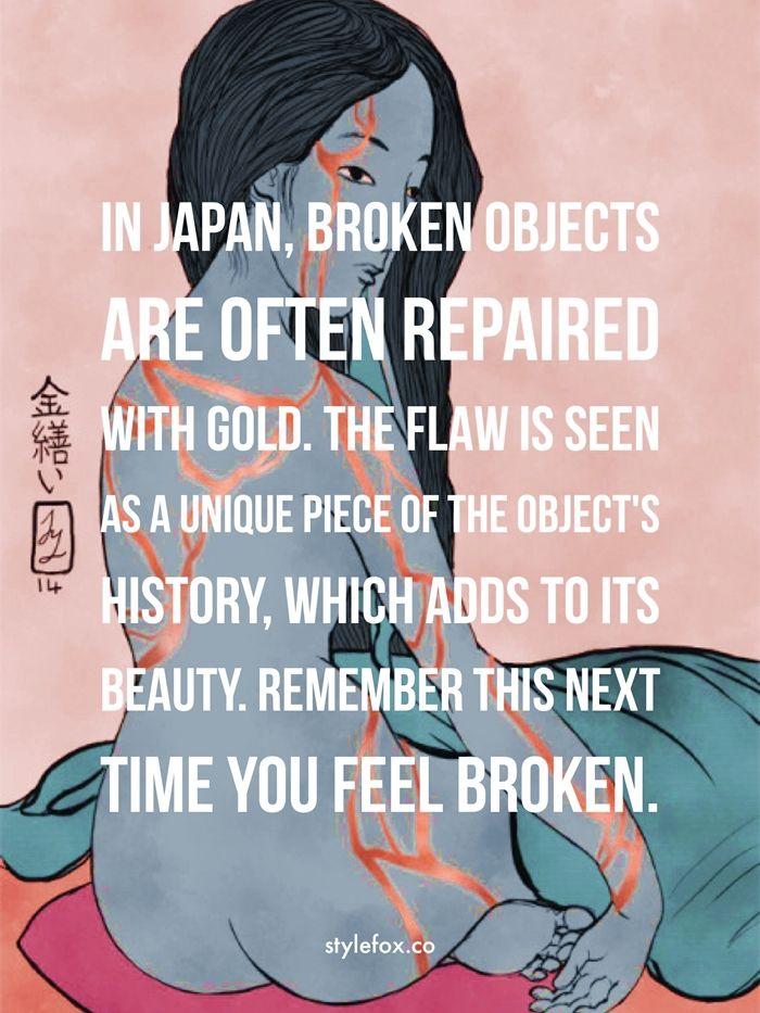 Kintsugi: The Japanese Art of Beauty in Brokenness