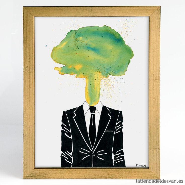 "Láminas figura humana: ""Beautiful Man I"", ARTISTA - Don Pedro. Dimensiones de las láminas: A4 / A3 Gramaje de la lámina: 150 gr. Desde 14€ #lamina #print #arte #decoracion"